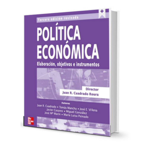 Politica Economica- Juan Cuadrado Roura PDF - Ebook