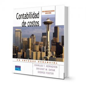 Contabilidad de costos Charles T. Horngren Ebook PDFLibros Ayuda
