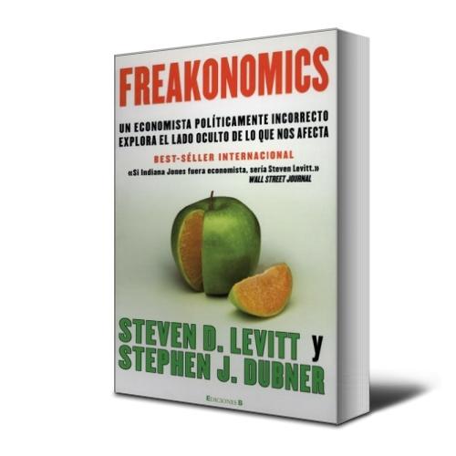 Freakonomics - Steven Levitt - Stephen Dubner  - PDF - Ebook