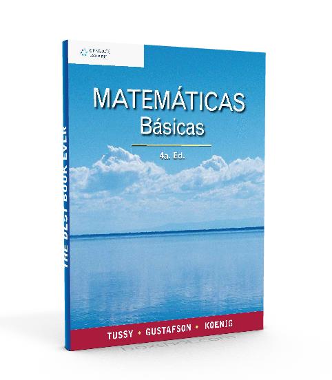 Matemáticas Básicas. 4a. Ed. eBook. Alan S. Tussy - PDF - ebook