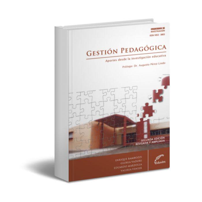 Gestión pedagógica - Enrique Bambozzi - PDF