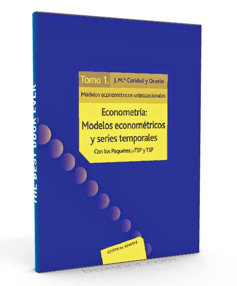 Econometria- Modelos econometricos y series temporales - Caridad - Ocerin - PDF