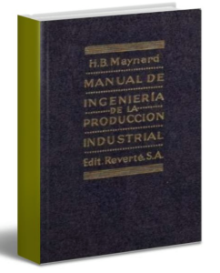 Manual de ingeniería de la producción industrial – Maynard – PDF-Ebook