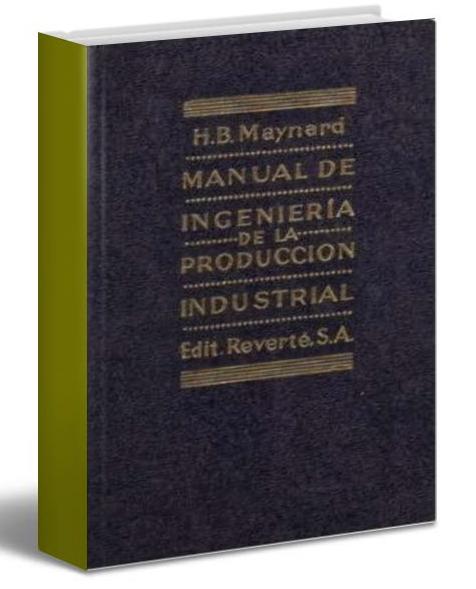 Manual de ingeniería de la producción industrial – Maynard – PDF-Ebook