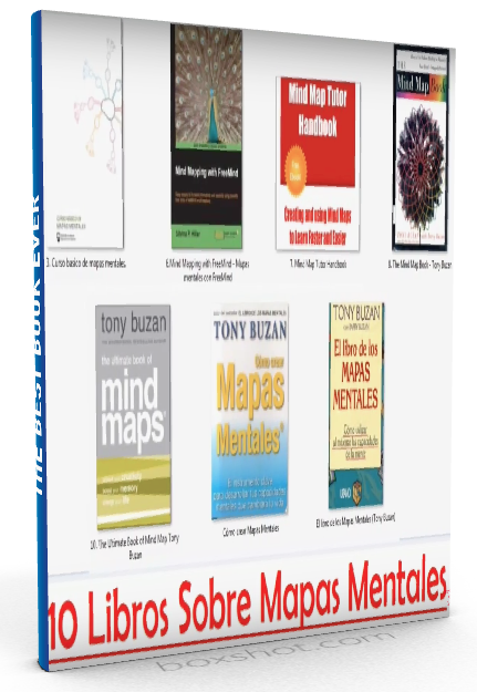 10 Libros de Mapas Mentales - Tony Buzan - PDF