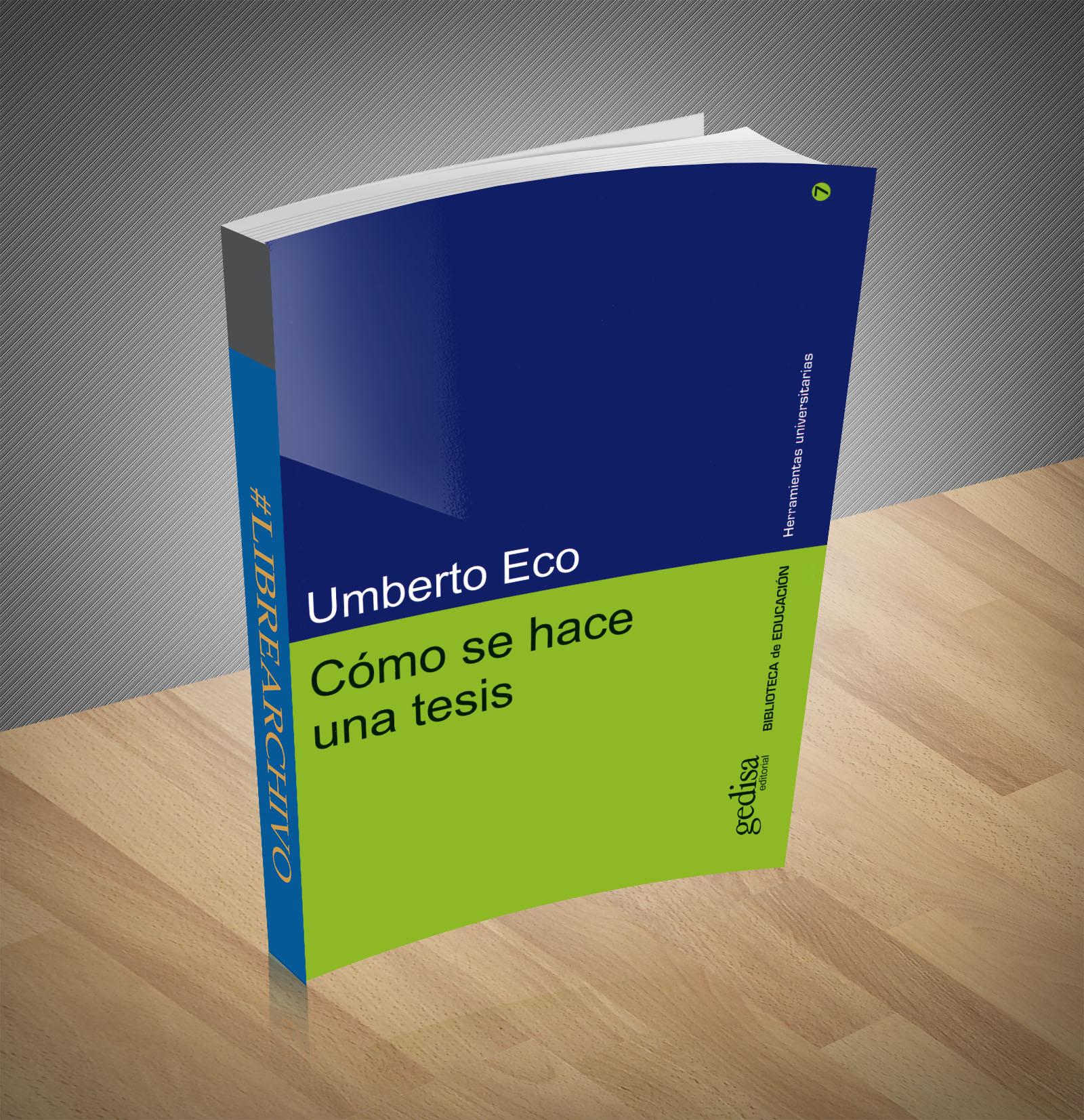 Como se hace una tesis - Umberto Eco - Ebook - PDF